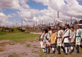 Slave Rebellion Reenactment - Dread Scott